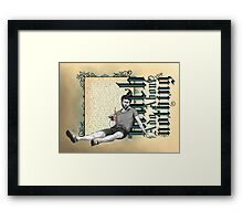 Shakespeare Much Ado About Nothing David Tennant Benedick Framed Print