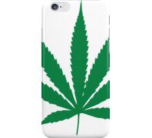 Marijuana Leaf 1 iPhone Case/Skin