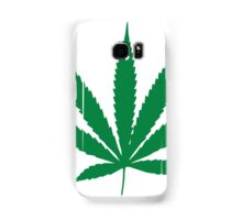 Marijuana Leaf 1 Samsung Galaxy Case/Skin
