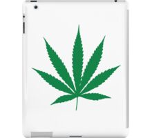 Marijuana Leaf 1 iPad Case/Skin