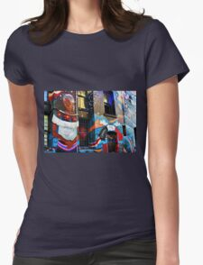 San Francisco Color Womens Fitted T-Shirt