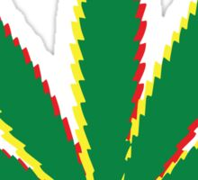 Marijuana Leaf 2 Sticker