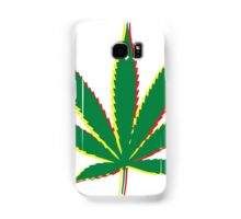 Marijuana Leaf 2 Samsung Galaxy Case/Skin