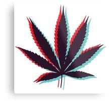 Marijuana Leaf 4 Metal Print