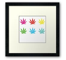Marijuana Leaf 7 Framed Print
