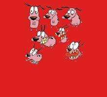 courage dog collage Unisex T-Shirt