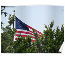 American Flag 2  Poster
