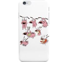 courage dog collage iPhone Case/Skin