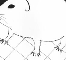 Adorable guinea pig Sticker