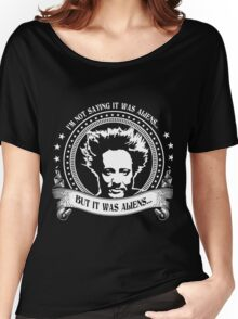 It Was Aliens (Giorgio A. Tsoukalos) Women's Relaxed Fit T-Shirt