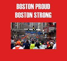Boston Marathon Boston Strong (White Text) Unisex T-Shirt