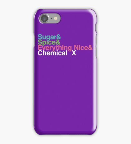 The Perfect Ingredients iPhone Case/Skin