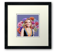 Flower Princess Gillian Framed Print