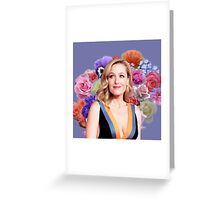 Flower Princess Gillian Greeting Card