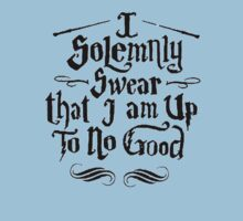 I Solemnly Swear I Am Up To No Good One Piece - Short Sleeve