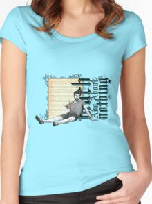 Shakespeare Much Ado About Nothing David Tennant Benedick Women's Fitted Scoop T-Shirt