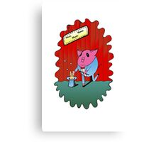 Magician PiGgy! Canvas Print