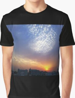 Balloon of clouds at Sunset Graphic T-Shirt