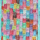 Cat Rainbow by RobynLee