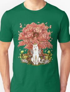 OKAMI & SAKURA Unisex T-Shirt