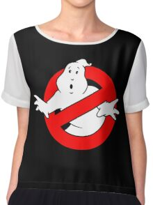 Ghost Busters Chiffon Top