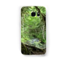 Through the Moss Covered Trees Samsung Galaxy Case/Skin