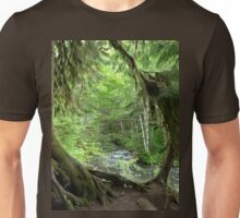 Through the Moss Covered Trees Unisex T-Shirt
