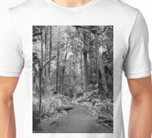 The Path ~ Black  & White Unisex T-Shirt