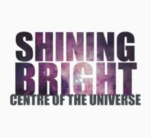 SHINING BRIGHT sentre of the universe One Piece - Short Sleeve