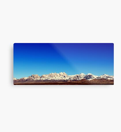 Organ Mountains Metal Print