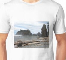 Ruby Beach - Oympic Peninsula Washington Unisex T-Shirt