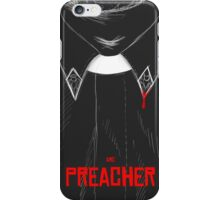 Preacher coat iPhone Case/Skin
