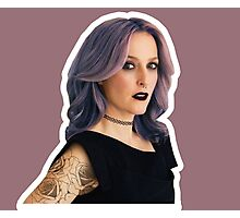 Punk Gillian Photographic Print