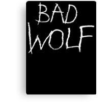 Bad Wolf Canvas Print