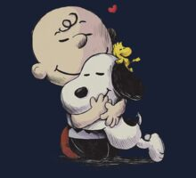 Everything Will Be Okay Peanuts Kids Tee