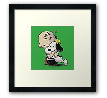 Everything Will Be Okay Peanuts Framed Print
