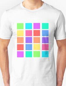 Rainbow Grid T-Shirt