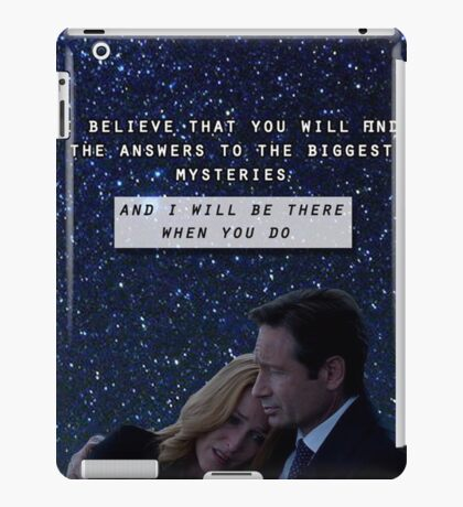 Revival Mulder & Scully iPad Case/Skin