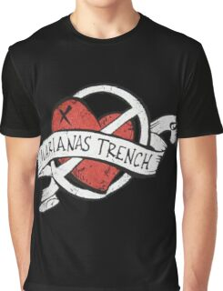 Marianas Trench Heart Logo Graphic T-Shirt