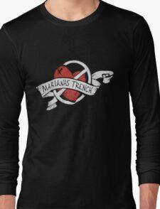 Marianas Trench Heart Logo Long Sleeve T-Shirt