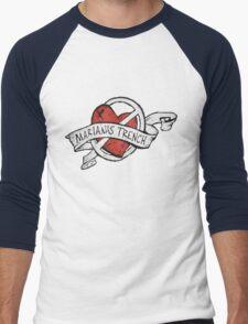 Marianas Trench Heart Logo Men's Baseball ¾ T-Shirt