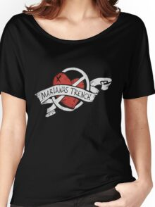 Marianas Trench Heart Logo Women's Relaxed Fit T-Shirt