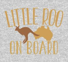 Little roo on Board (Australian pregnancy meternity design) One Piece - Short Sleeve