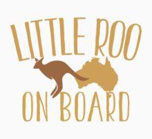 Little roo on Board (Australian pregnancy meternity design) Kids Tee
