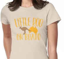 Little roo on Board (Australian pregnancy meternity design) Womens Fitted T-Shirt