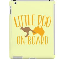 Little roo on Board (Australian pregnancy meternity design) iPad Case/Skin
