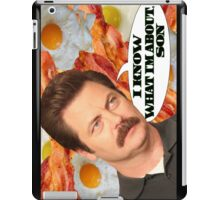I Know What I'm About, Son iPad Case/Skin
