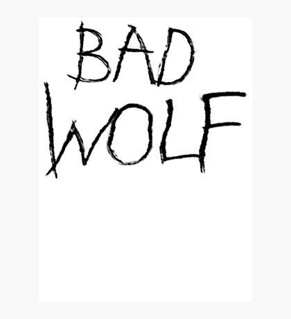 Bad Wolf Photographic Print