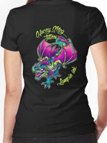 Kacey Meg Tattoos Women's Fitted V-Neck T-Shirt