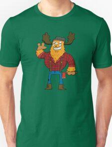 Lumberjack Monster Unisex T-Shirt